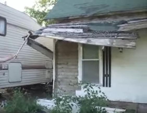 Asbestos Roof Demolition