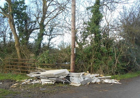 Rise in Asbestos Fly-tipping During Lockdown