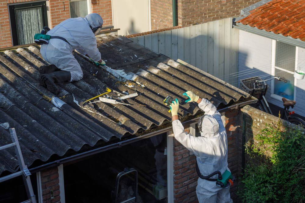 Removing Asbestos Corrugated Cement Roofing