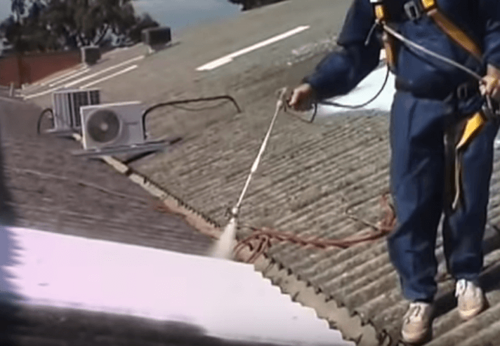 Asbestos Encapsulation Spraying