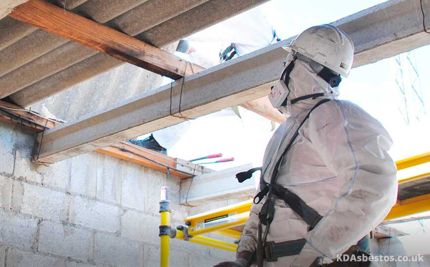 Inspecting Asbestos