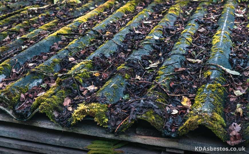 Asbestos Corrugated Roof
