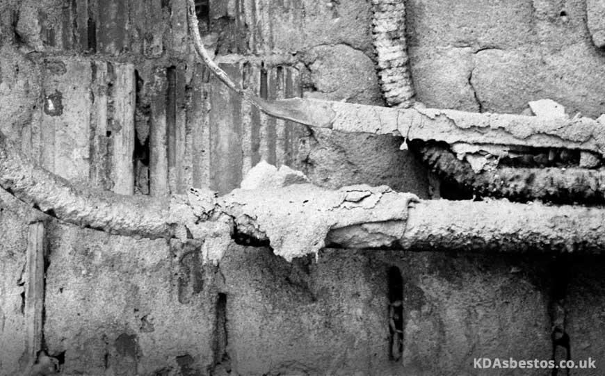 Asbestos Pipe Lagging
