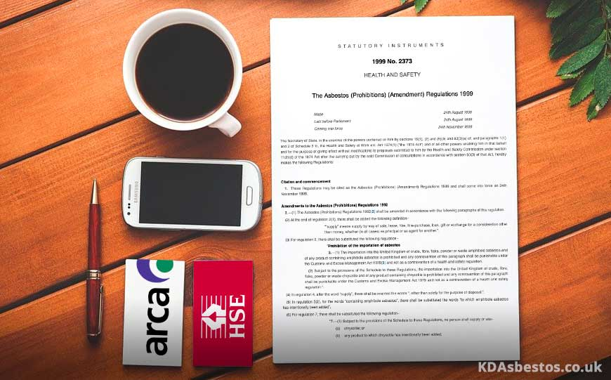Asbestos Regulations Document