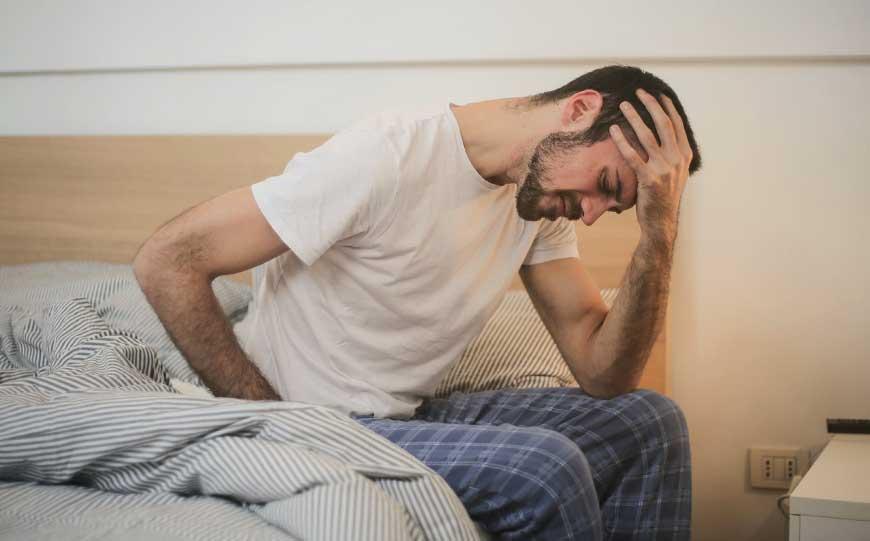 Fatigued Man