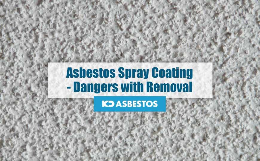 Asbestos Spray Coating